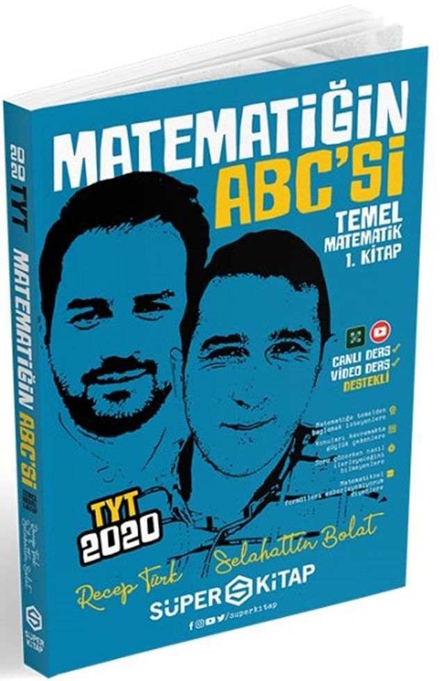 Süper Kitap TYT Matematiğin Abcsi Temel Matematik 1. Kitap