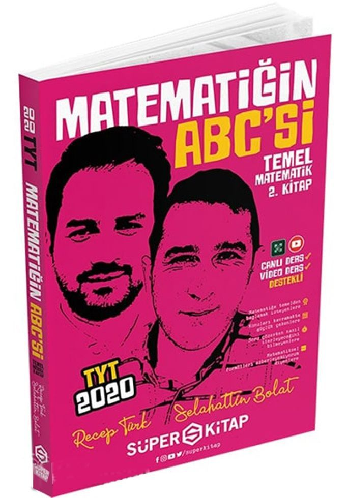 Süper Kitap TYT Matematiğin Abcsi Temel Matematik 2. Kitap