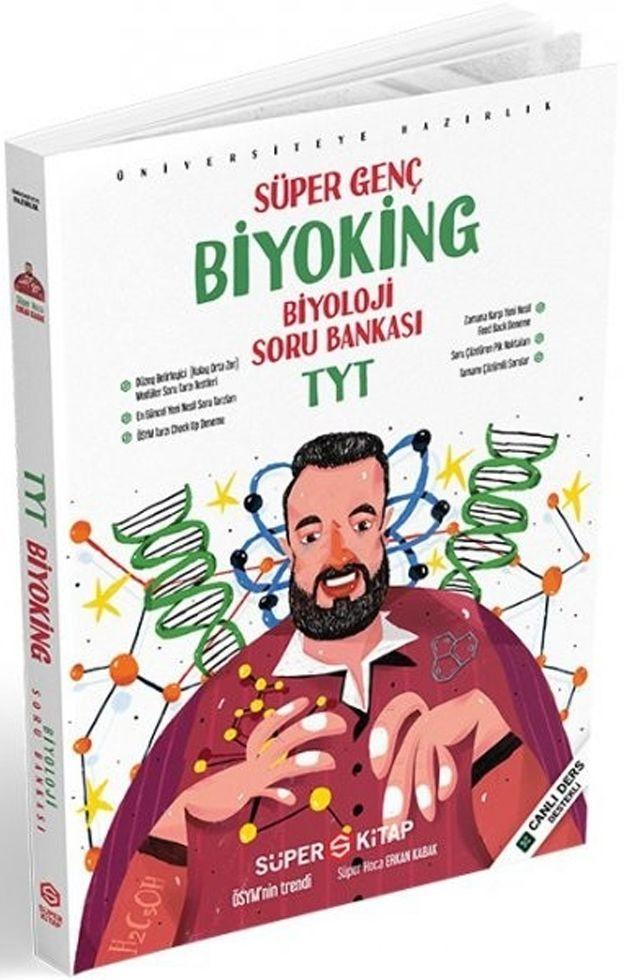 Süper Kitap Yayınları TYT Biyoking Biyoloji Soru Bankası