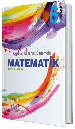 Süreç Yayın Dağıtım 6. Sınıf Matematik Öğretici Kazanım Denemeleri
