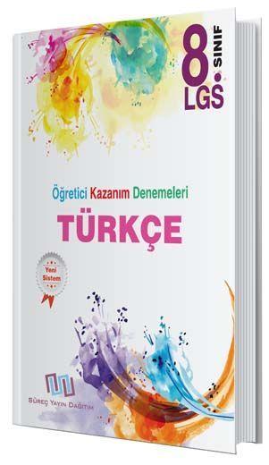 Süreç Yayın Dağıtım 8. Sınıf LGS Türkçe Öğretici Kazanım Denemeleri
