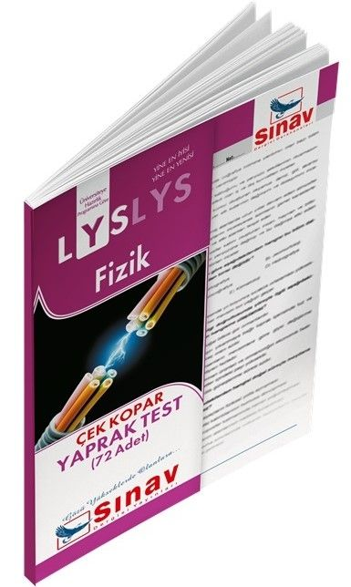 Sınav Yayınları LYS Fizik Yaprak Test