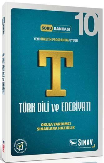 Sınav Yayınları 10. Sınıf Türk Dili ve Edebiyatı Soru Bankası