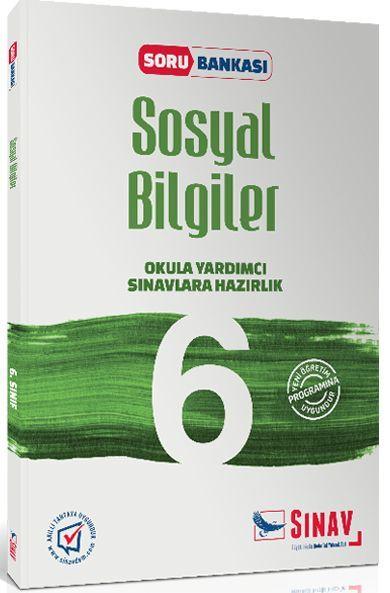 Sınav Yayınları 6. Sınıf Sosyal Bilgiler Soru Bankası