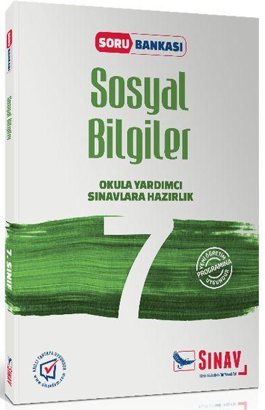 Sınav Yayınları 7. Sınıf Sosyal Bilgiler Soru Bankası