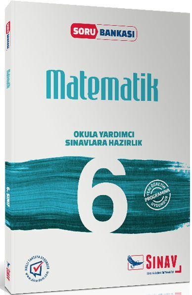 Sınav Yayınları 6. Sınıf Matematik Soru Bankası