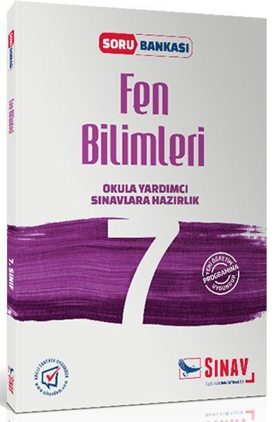 Sınav Yayınları 7. Sınıf Fen Bilimleri Soru Bankası