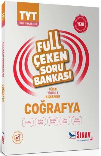 Sınav Yayınları TYT Coğrafya Full Çeken Soru Bankası