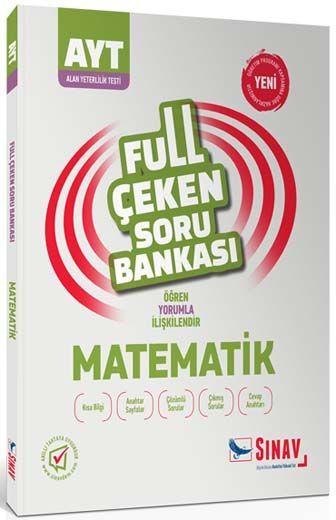 Sınav Yayınları AYT Matematik Full Çeken Soru Bankası