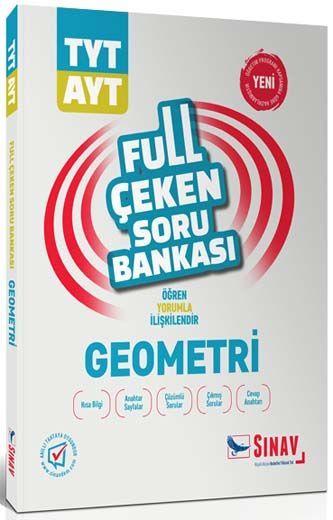 Sınav Yayınları TYT AYT Geometri Full Çeken Soru Bankası