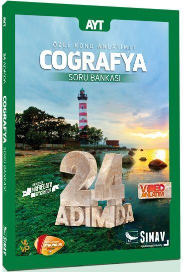 Sınav Yayınları AYT Coğrafya 24 Adımda Özel Konu Anlatımlı Soru Bankası