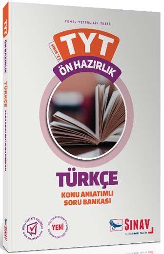Sınav Yayınları 11. Sınıf Türkçe TYT Ön Hazırlık Konu Anlatımlı Soru Bankası