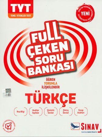Sınav Yayınları TYT Türkçe Full Çeken Soru Bankası