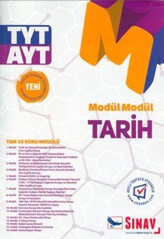 Sınav Yayınları TYT AYT Tarih Modül Modül Konu Anlatımlı