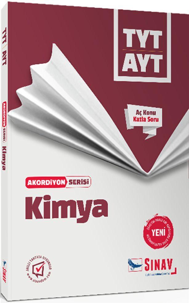 Sınav Yayınları TYT AYT Kimya Akordiyon Serisi