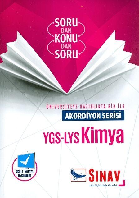 Sınav YGS LYS Kimya Akordiyon Serisi Sorudan Konudan Soru
