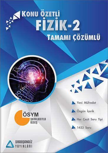 Sıradışıanaliz Yayınları AYT Fizik 2 Tamamı Çözümlü Konu Özetli