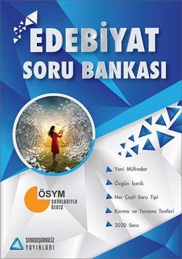 Sıradışıanaliz Yayınları AYT Edebiyat Soru Bankası