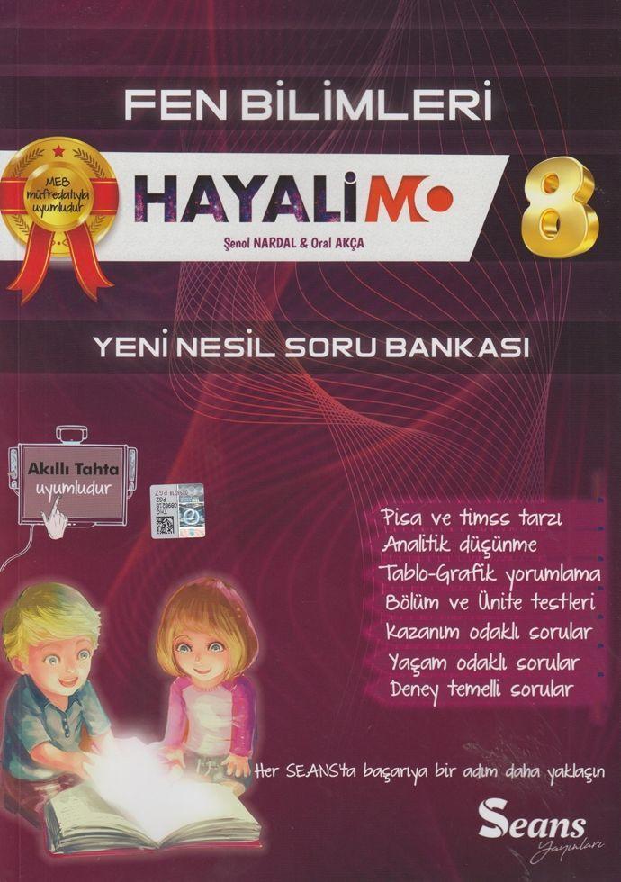 Seans Yayınları 8. Sınıf Fen Bilimleri Hayalimo Yeni Nesil Soru Bankası