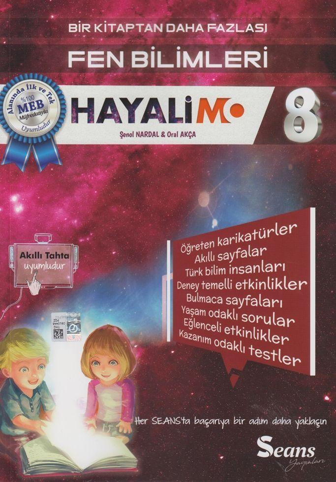 Seans Yayınları 8. Sınıf Fen Bilimleri Hayalimo Bir Kitaptan Daha Fazlası