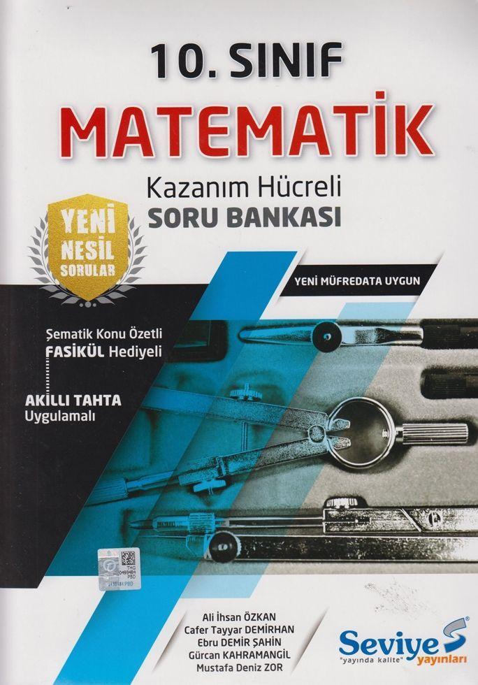 Seviye Yayınları 10. Sınıf Matematik Kazanım Hücreli Soru Bankası