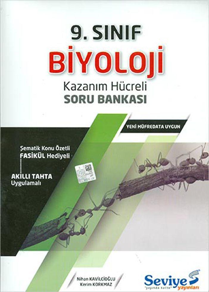 Seviye Yayınları 9. Sınıf Biyoloji Kazanım Hücreli Soru Bankası