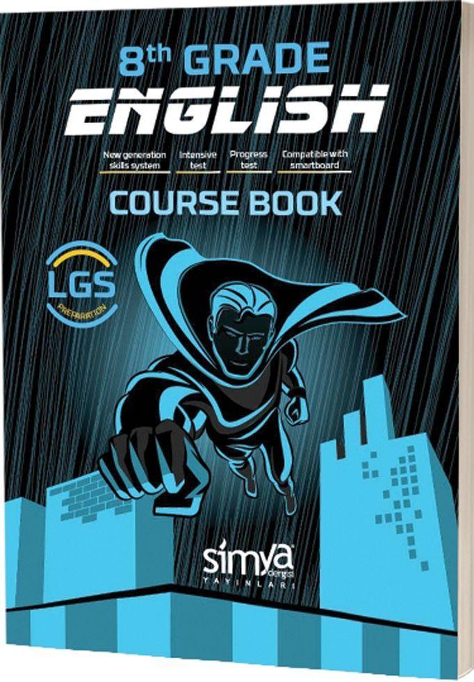 Simya Yayınları 8. Sınıf LGS English Course Book