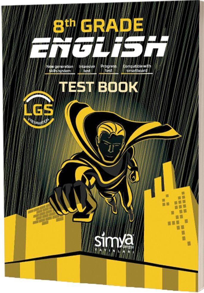 Simya Yayınları 8. Sınıf LGS English Test Book