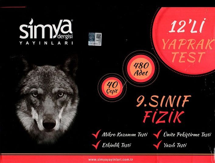Simya Yayınları 9. Sınıf Fizik Seti