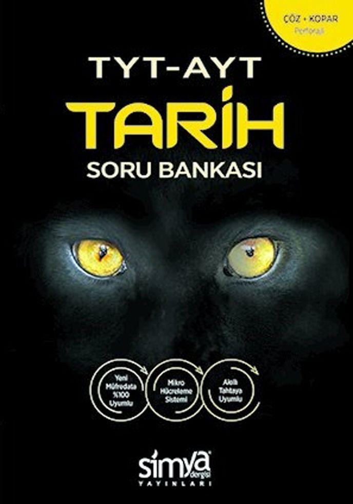 Simya Yayınları TYT AYT Tarih Soru Bankası