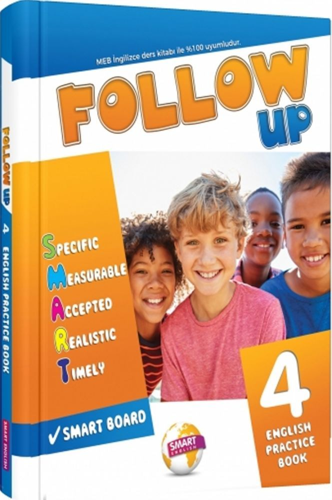 Smart English 4. Sınıf Follow Up English Practice Book