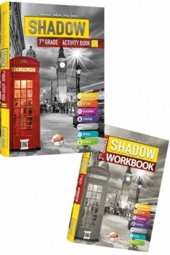 Smart English 7. Sınıf Shadow Activity Book 1