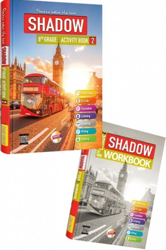 Smart English 8. Sınıf Shadow Activity Book 2