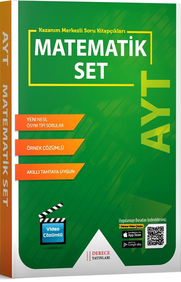 Sonuç Derece Yayınları AYT Matematik Modüler Set