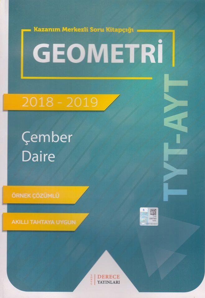 Sonuç Derece Yayınları TYT AYT Geometri Çember Daire