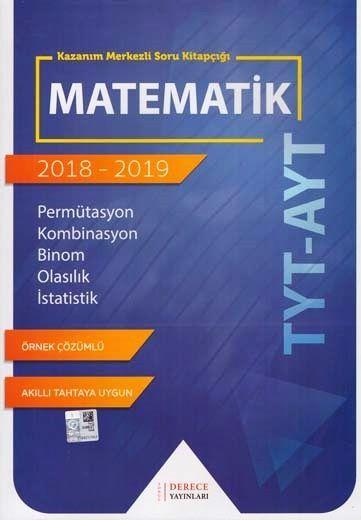 Sonuç Derece Yayınları TYT AYT Matematik Permütasyon Kombinasyon Binom Olasılık İstatistik