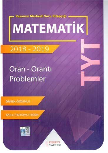 Sonuç Derece Yayınları TYT Matematik Oran Orantı Problemler