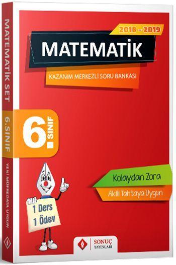 Sonuç Yayınları 6. Sınıf Matematik Kazanım Merkezli Soru Bankası Seti