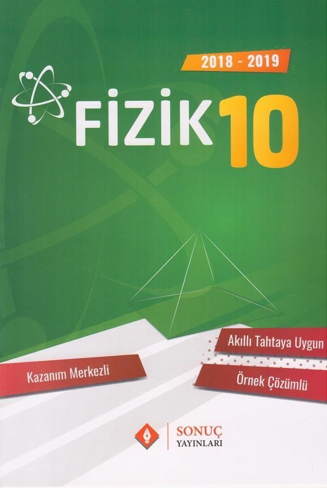 Sonuç Yayınları 10. Sınıf Fizik Kazanım Merkezli Soru Bankası Seti