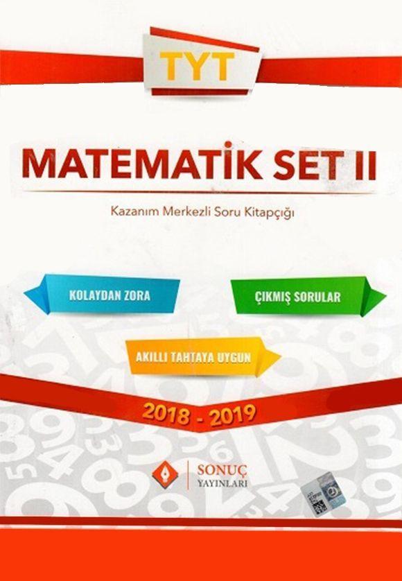 Sonuç Yayınları TYT Matematik Set 2 Kazanım Merkezli Soru Kitapçığı