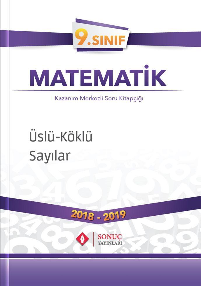 Sonuç Yayınları 9. Sınıf Matematik Üslü Sayılar Köklü Sayılar