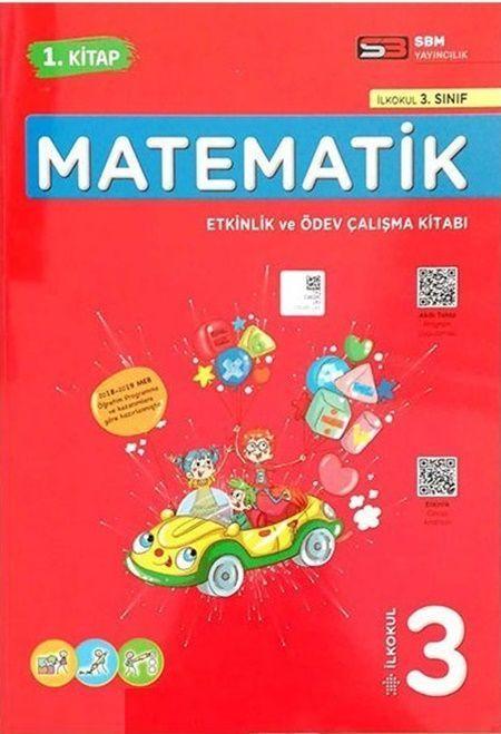 Soru Bankası Merkezi Yayınları 3.Sınıf Matematik Etkinlik ve Ödev Çalışma Kitabı 1