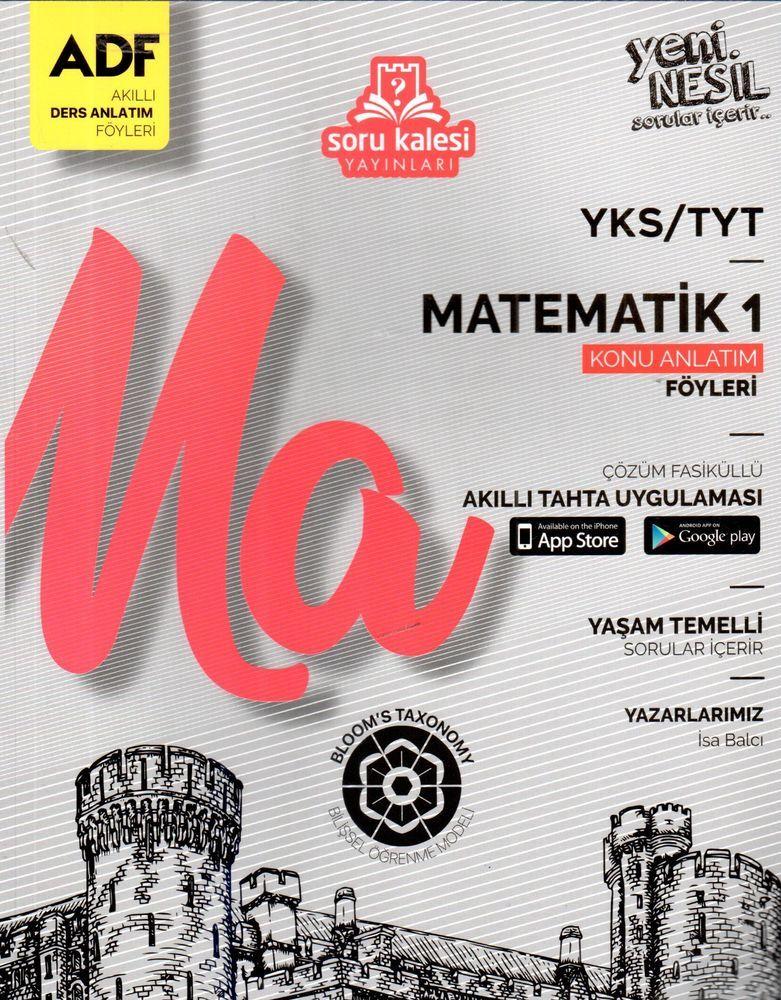 Soru Kalesi Yayınları TYT Matematik 1 Çek Kopart Akıllı Konu Anlatım Föyü