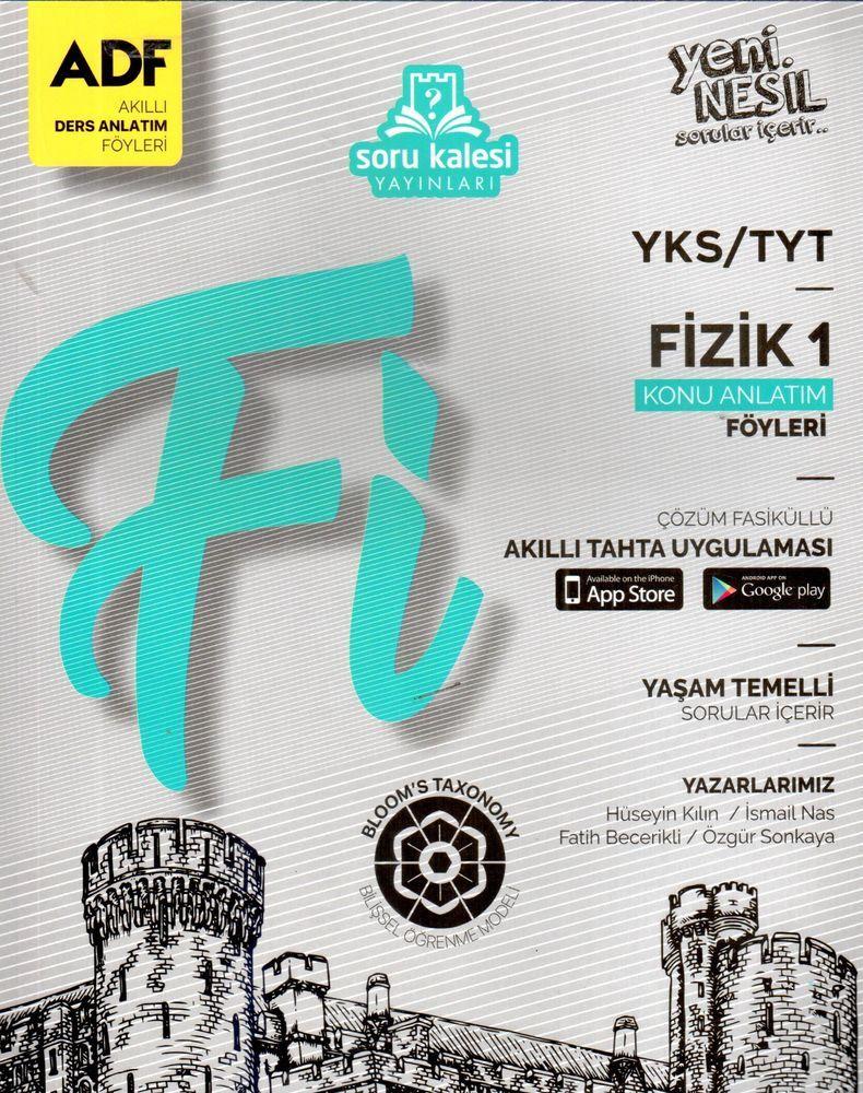 Soru Kalesi Yayınları TYT Fizik 1 Çek Kopart Akıllı Konu Anlatım Föyü