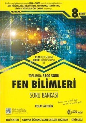 Soru Makinesi Yayınları 8. Sınıf Fen Bilimleri Soru Bankası