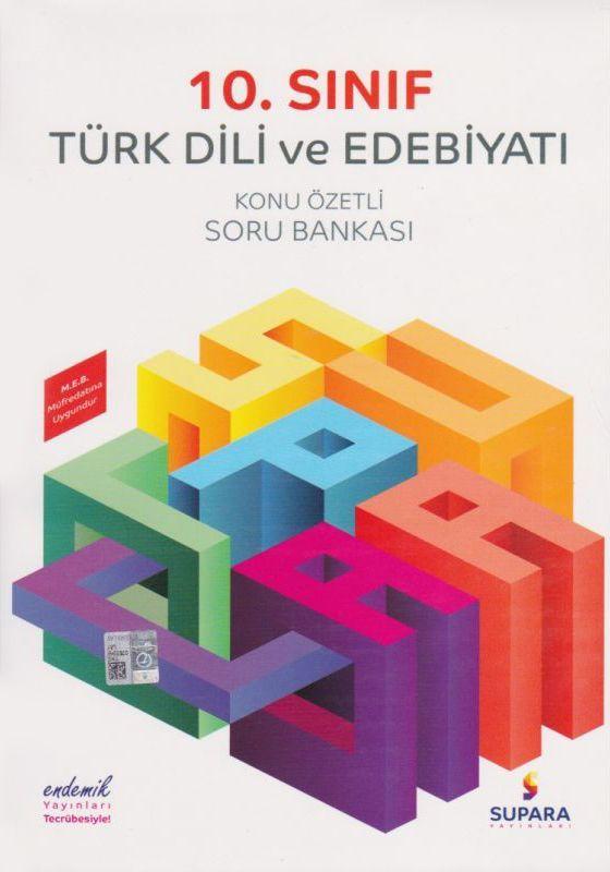 Supara Yayınları 11. Sınıf Türk Dili ve Edebiyatı Konu Özetli Soru Bankası