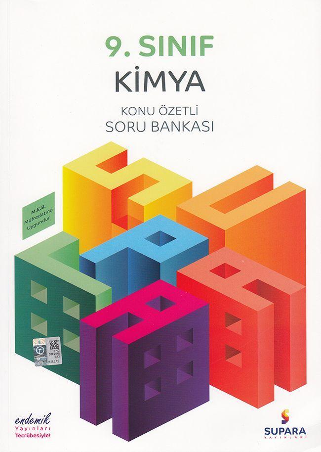 Supara Yayınları 9. Sınıf Kimya Konu Özetli Soru Bankası