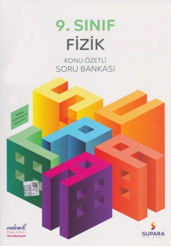 Supara Yayınları 9. Sınıf Fizik Konu Özetli Soru Bankası