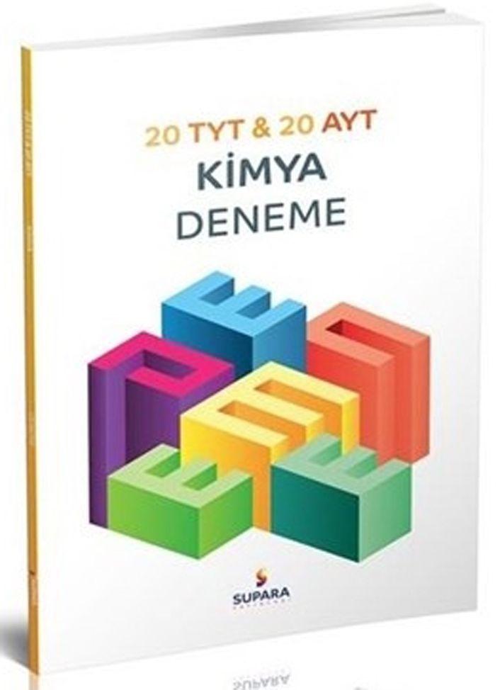 Supara Yayınları TYT AYT Kimya 20 li Deneme