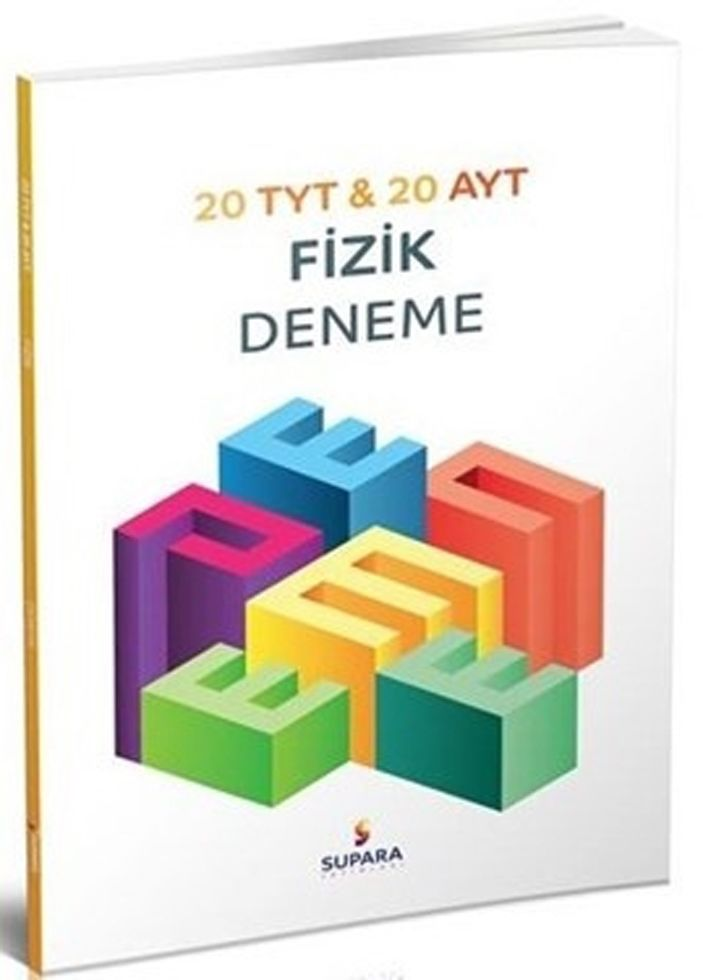 Supara Yayınları TYT AYT Fizik 20 li Deneme